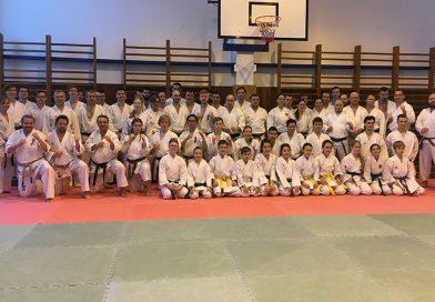Seminář Karate, školení trenérů 3.tříd, rozhodčích…